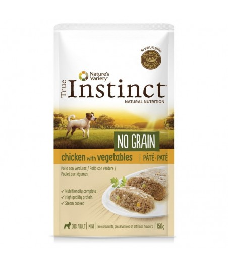 True Instinct No Grain Pollo Mini Adult PETUSO amor y mascotas